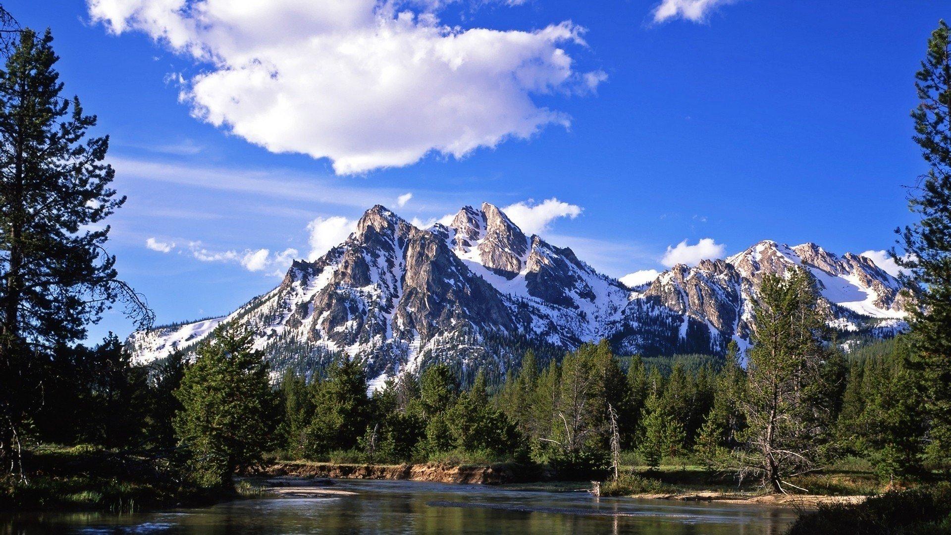 Majestic Fall Wallpaper Nature Mountain Forest Landscape Fog Lake Ultrahd 4k