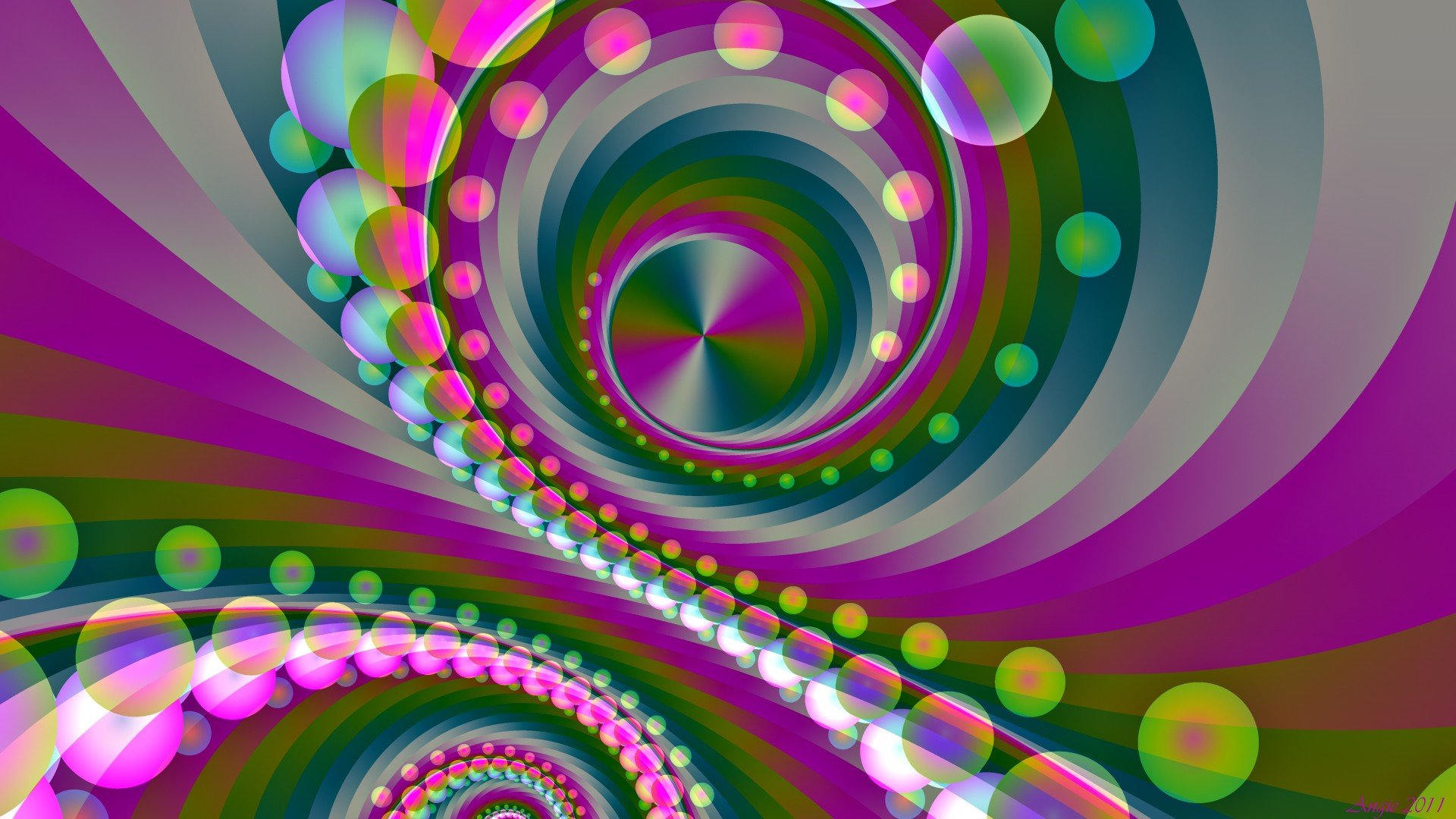 3d Rainbow Psychedeli Wallpaper Abstract Multicolor Patterns Psychedelic Digital Art