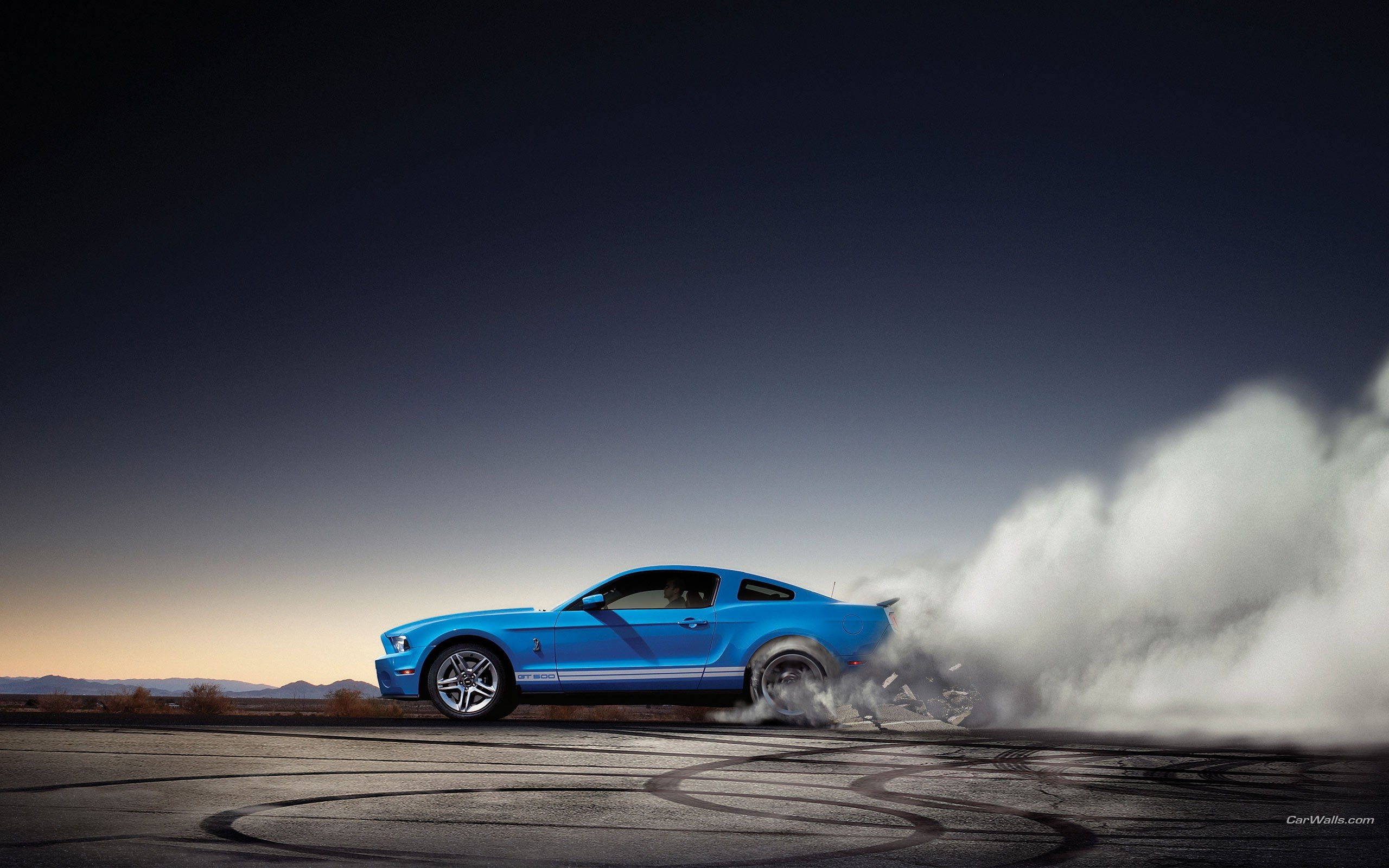 Muscle Cars Burnout Wallpapers Burnout Ford Shelby Ford Mustang Shelby Gt500 Wallpaper