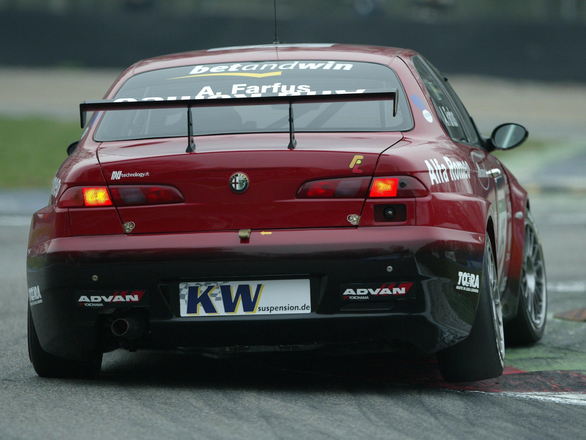 Race Car Wallpaper Images 2004 07 Alfa Romeo 156 Super 2000 Se107 Wtcc Race Racing