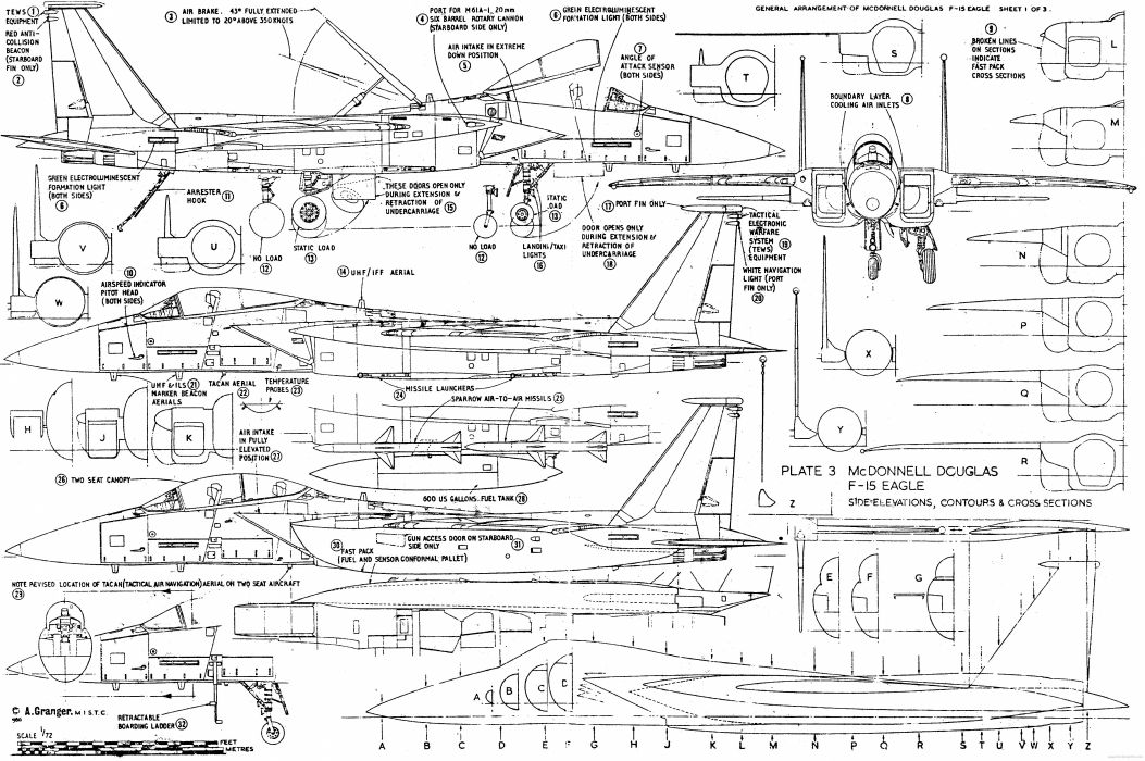 military picture f15 fighter airplane diagram