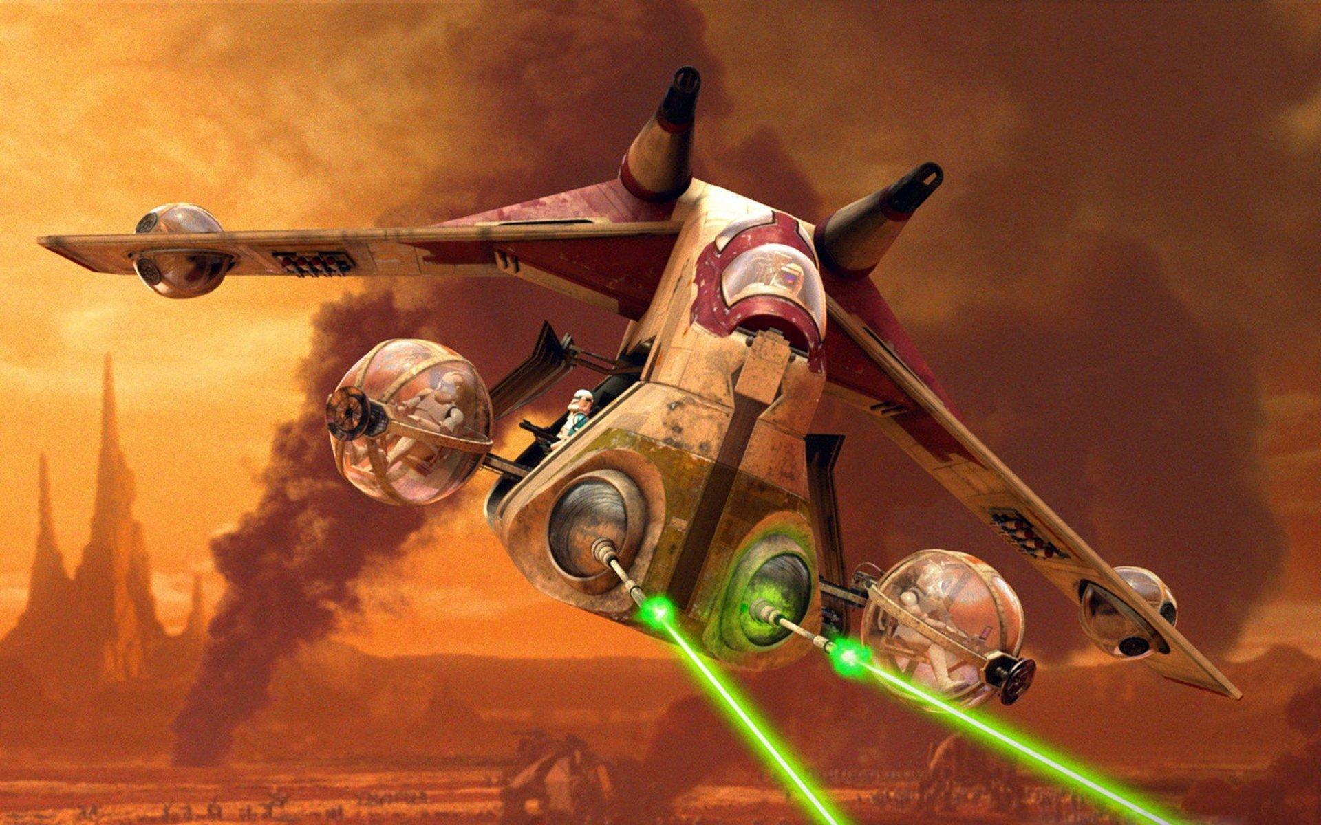Www Animation Wallpaper Com Star Wars Clone Wars Animation Sci Fi Cartoon Futuristic