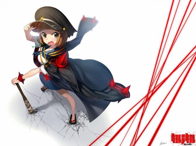 The Best Desktop Wallpapers Hd Brown Eyes Brown Hair Hat Kill La Kill Mankanshoku Mako