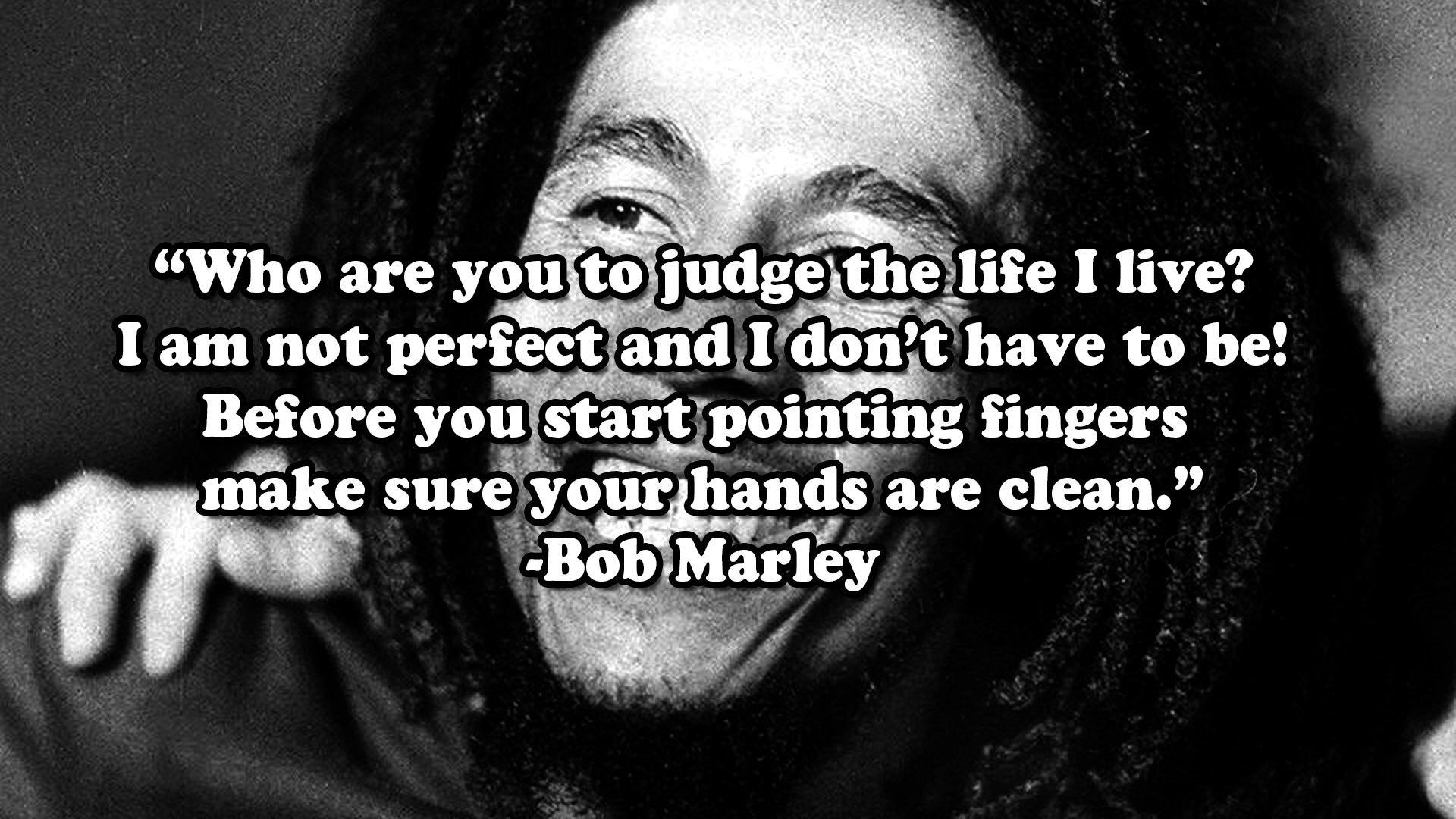 Musical Birthday Quotes Wallpapers Bob Marley Reggae Singer Marijuana 420 Quote Sadic Mood