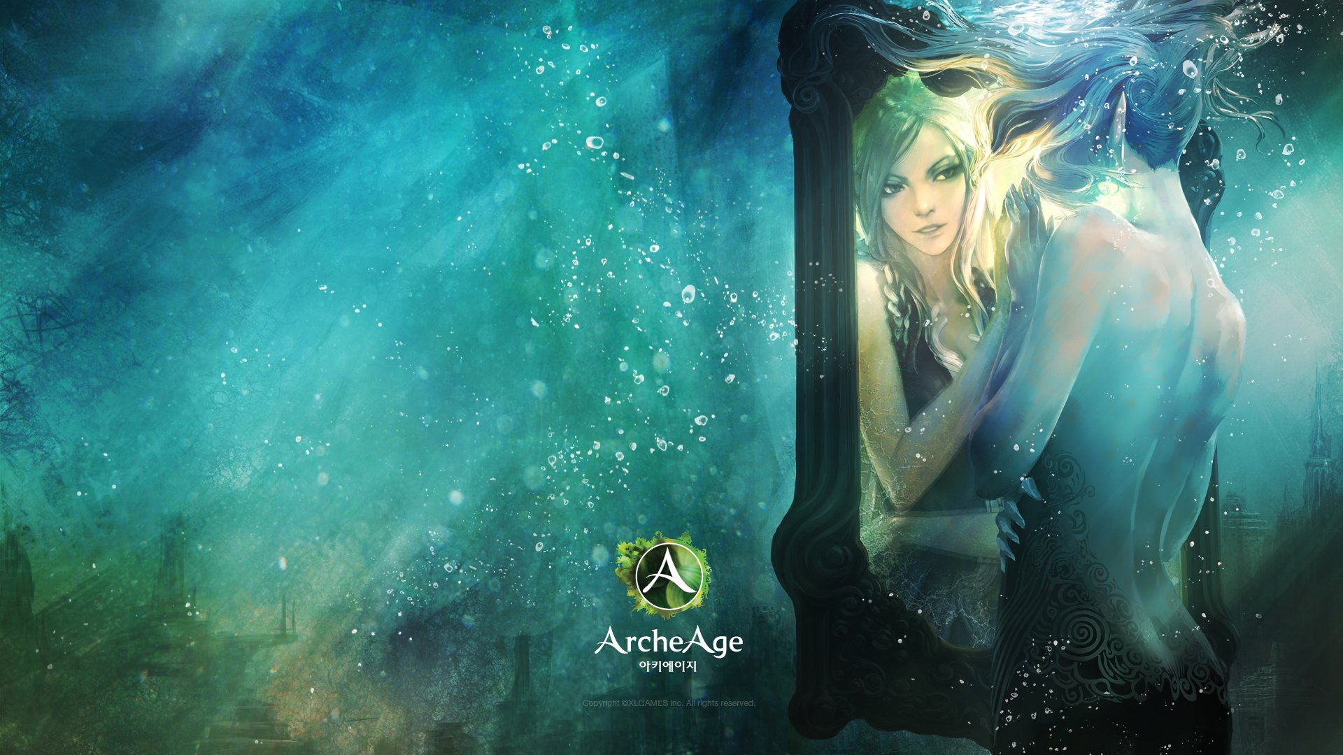 Cool Boy And Girl Wallpapers Magic Archeage Mirror Two Games Fantasy Wallpaper