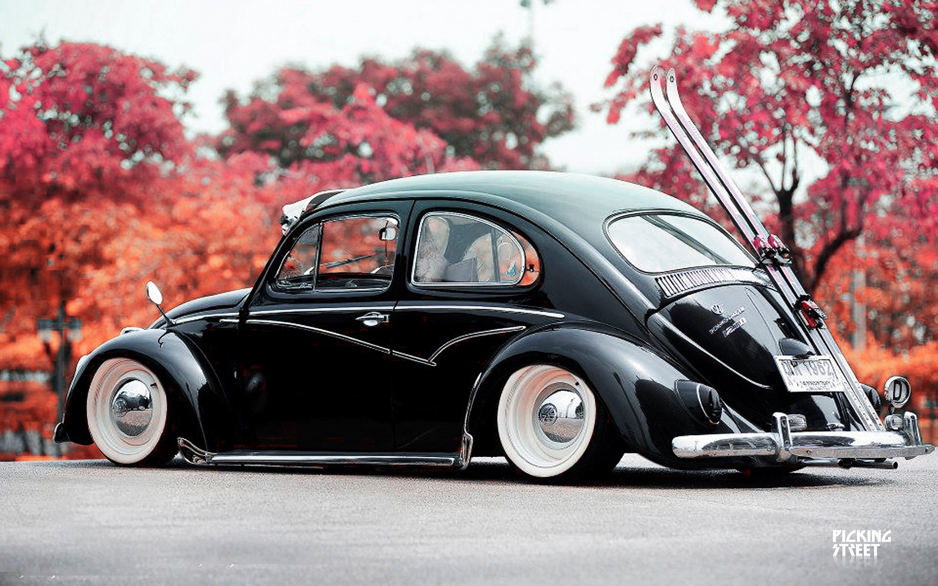 Cars 1 Wallpaper Lowrider Volkswagon Beetle Socal Wheel Gd Wallpaper