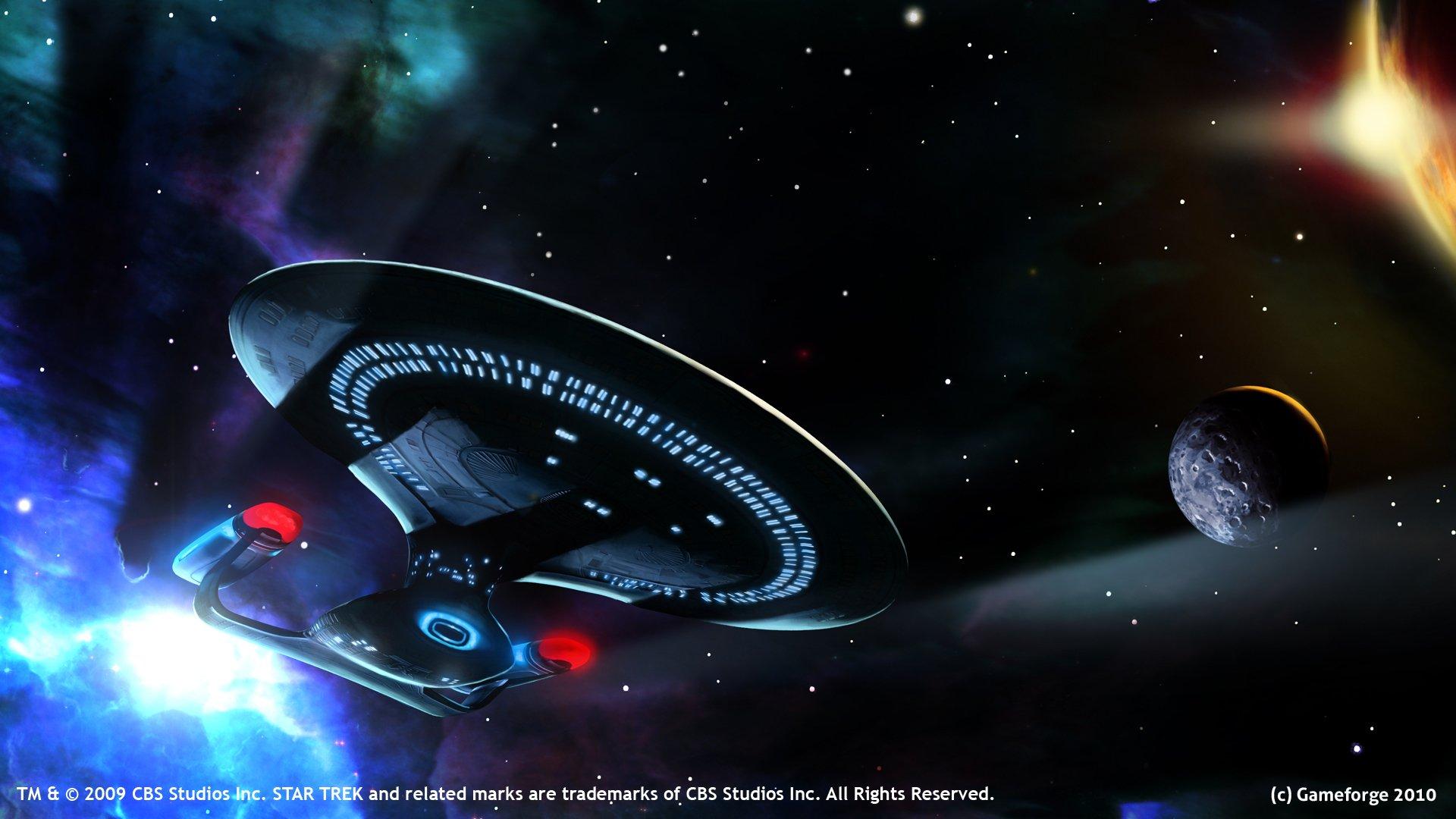3d Anaglyph Wallpaper Desktop Star Trek Uss Enterprise Wallpaper 1920x1080 345937