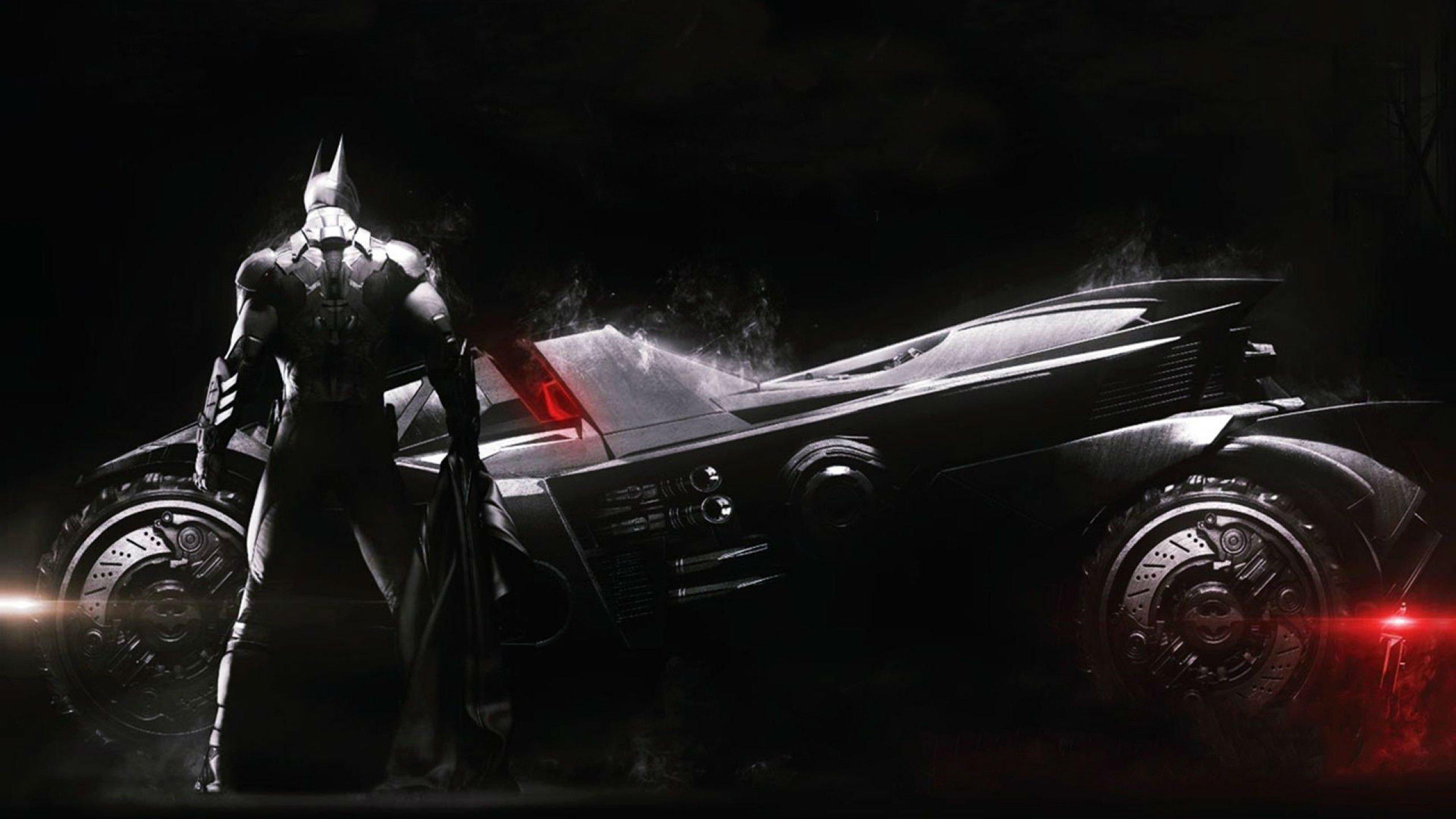 Batman The Dark Knight Car Wallpaper Batman Arkham Knight Action Adventure Superhero Comic Dark