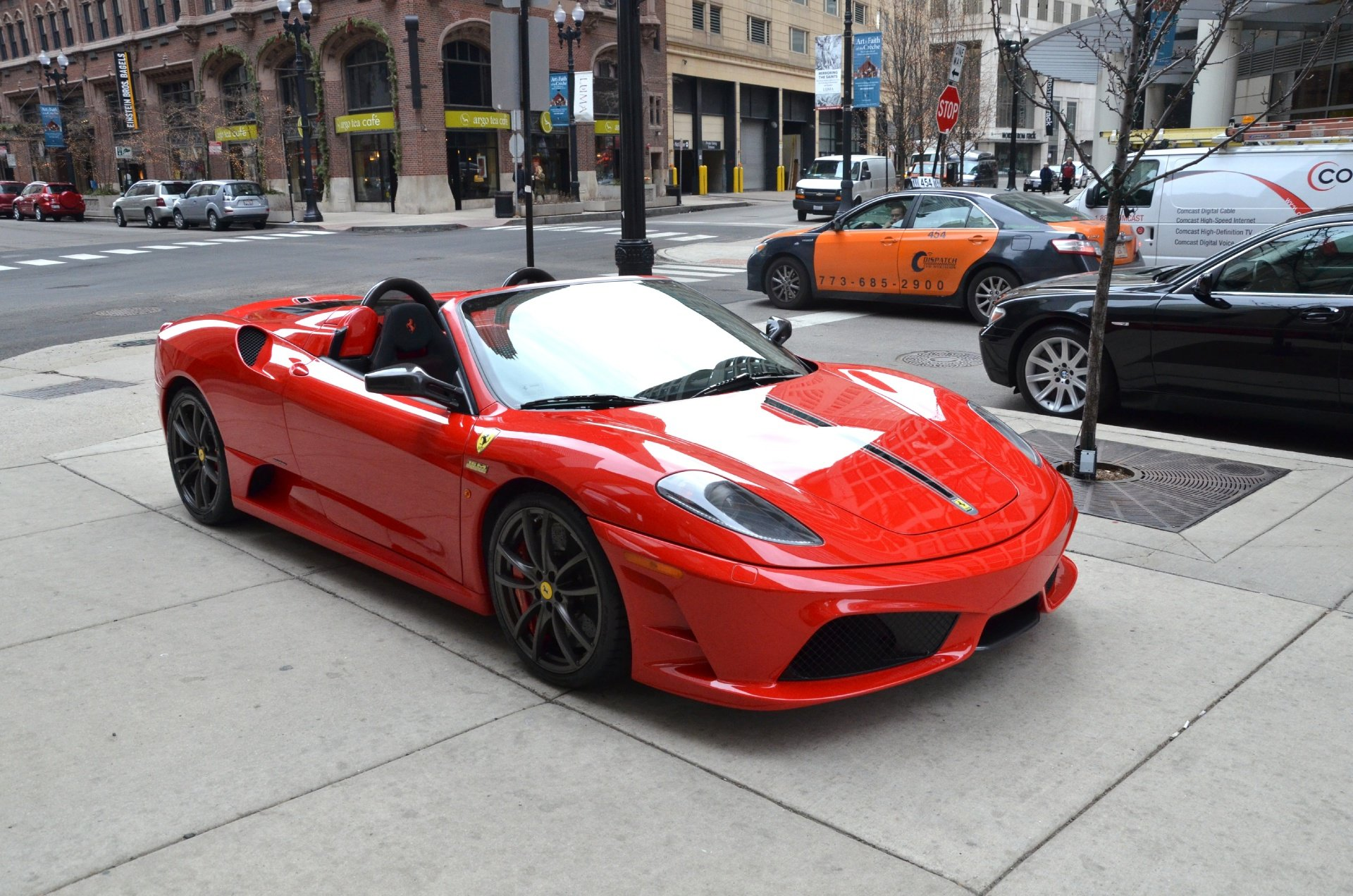 Small Size Car Wallpapers Ferrari F430 Scuderia Spider Cabriolet Roadster Dreamcar