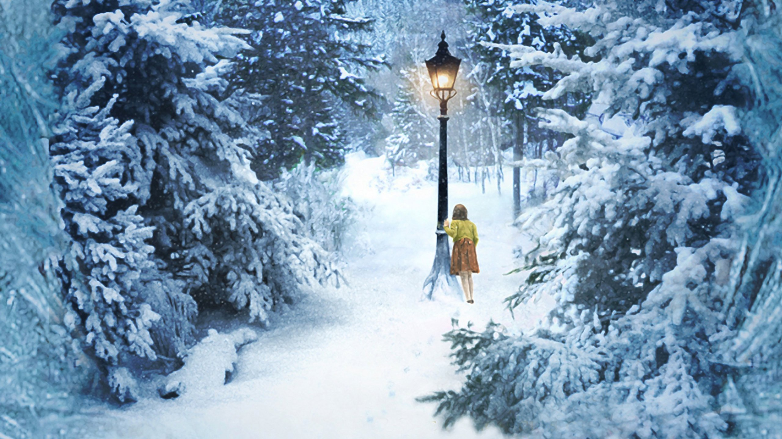 Lucy In Narnia Wallpaper 2560x1440 395439 Wallpaperup