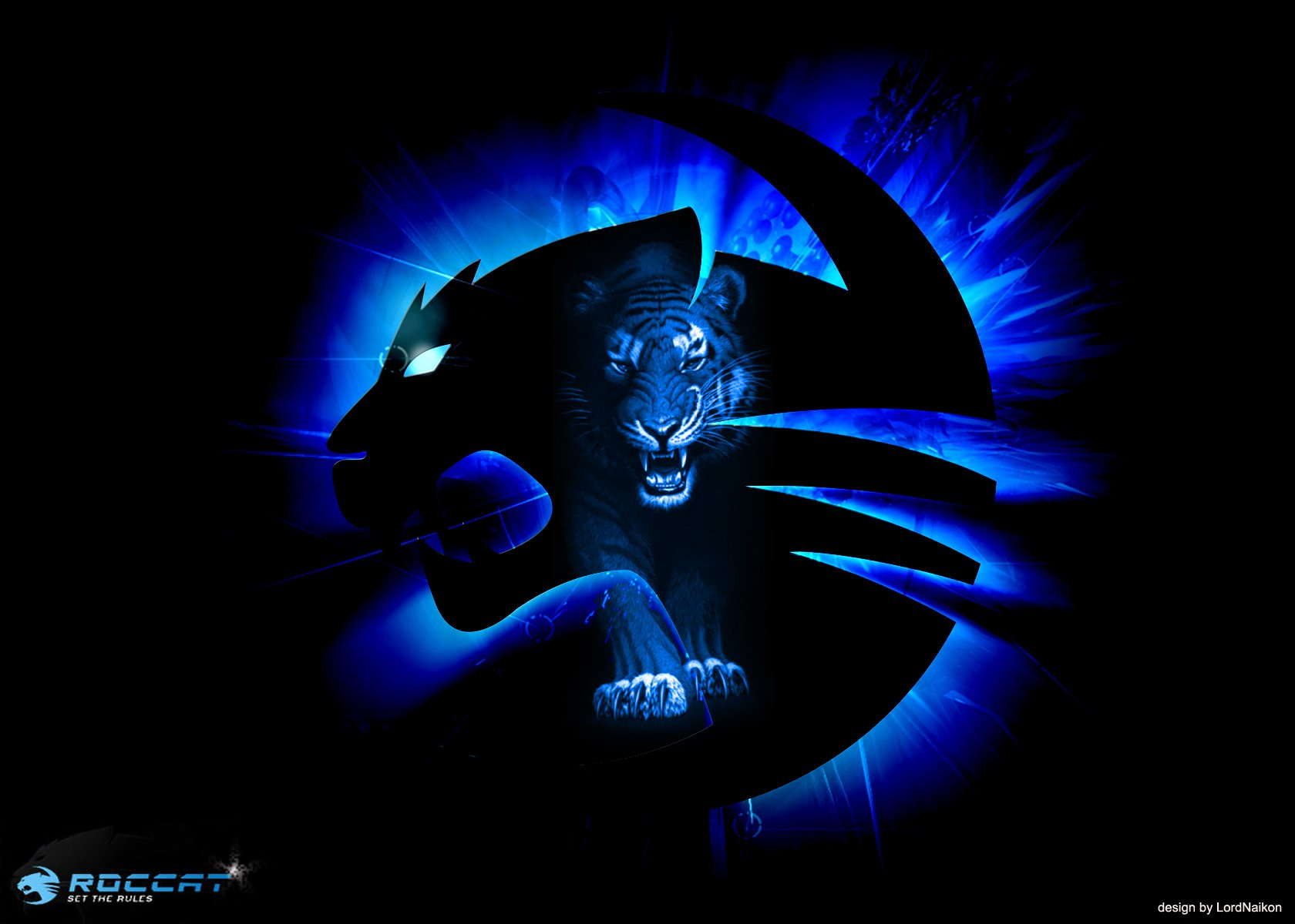 Ls 3d Cartoon Art Wallpaper Roccat Gaming Computer Wallpaper 1680x1200 401587
