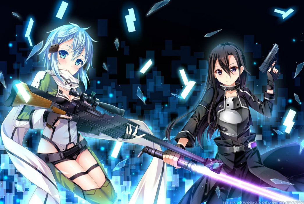 Anime Wallpaper Free Download Grandia Artist Gun Gun Gale Online Kirigaya Kazuto