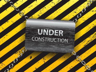 Under construction sign work computer humor funny text maintenance wallpaper website web ...