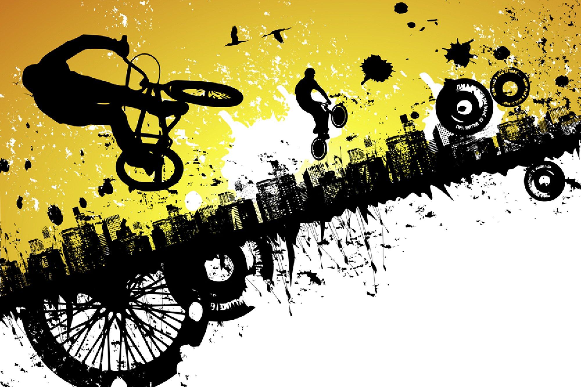 Red And Black Graffiti Wallpaper Bmx Logo Bike Bicycle Wallpaper 2000x1334 463397