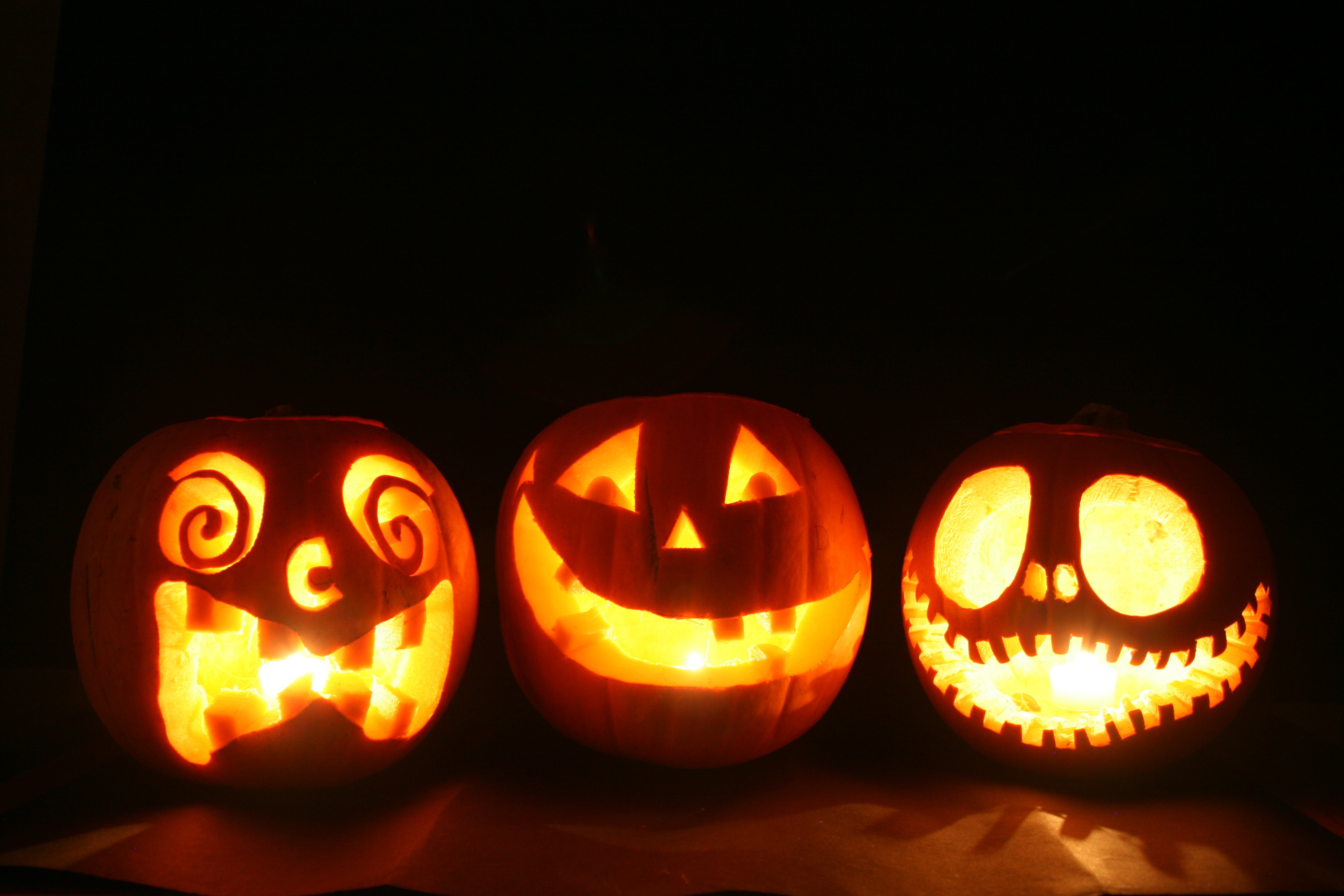 Fall Harvest Wallpaper Images Halloween Citrouille Pumpkin Wallpaper 3888x2592