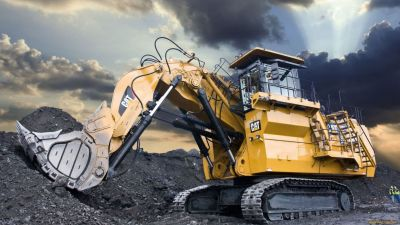 Backhoe machine big mine wallpaper | 1920x1080 | 497336 | WallpaperUP
