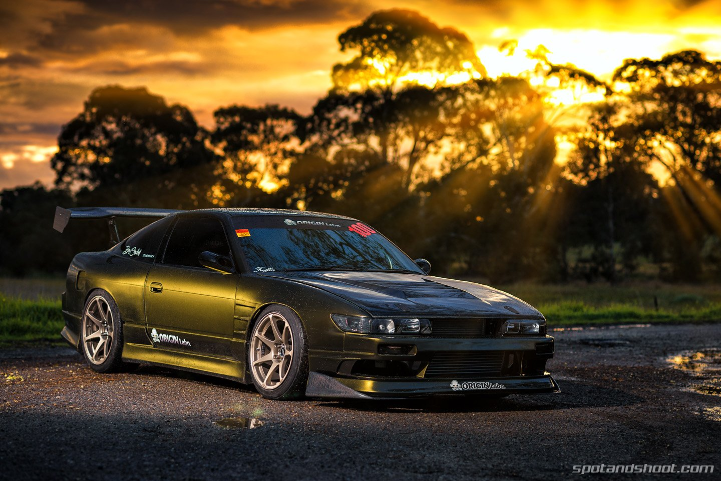Hd Jdm Car Wallpapers Nissan 180sx Coupe Tuning Cars Japan Wallpaper 1440x961