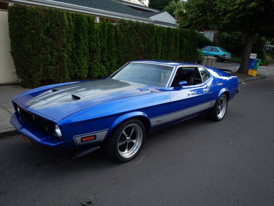 Wallpaper Super Cars Download 1973 428 Classic Cobra Jet Mach Mach 1 Muscle Mustang