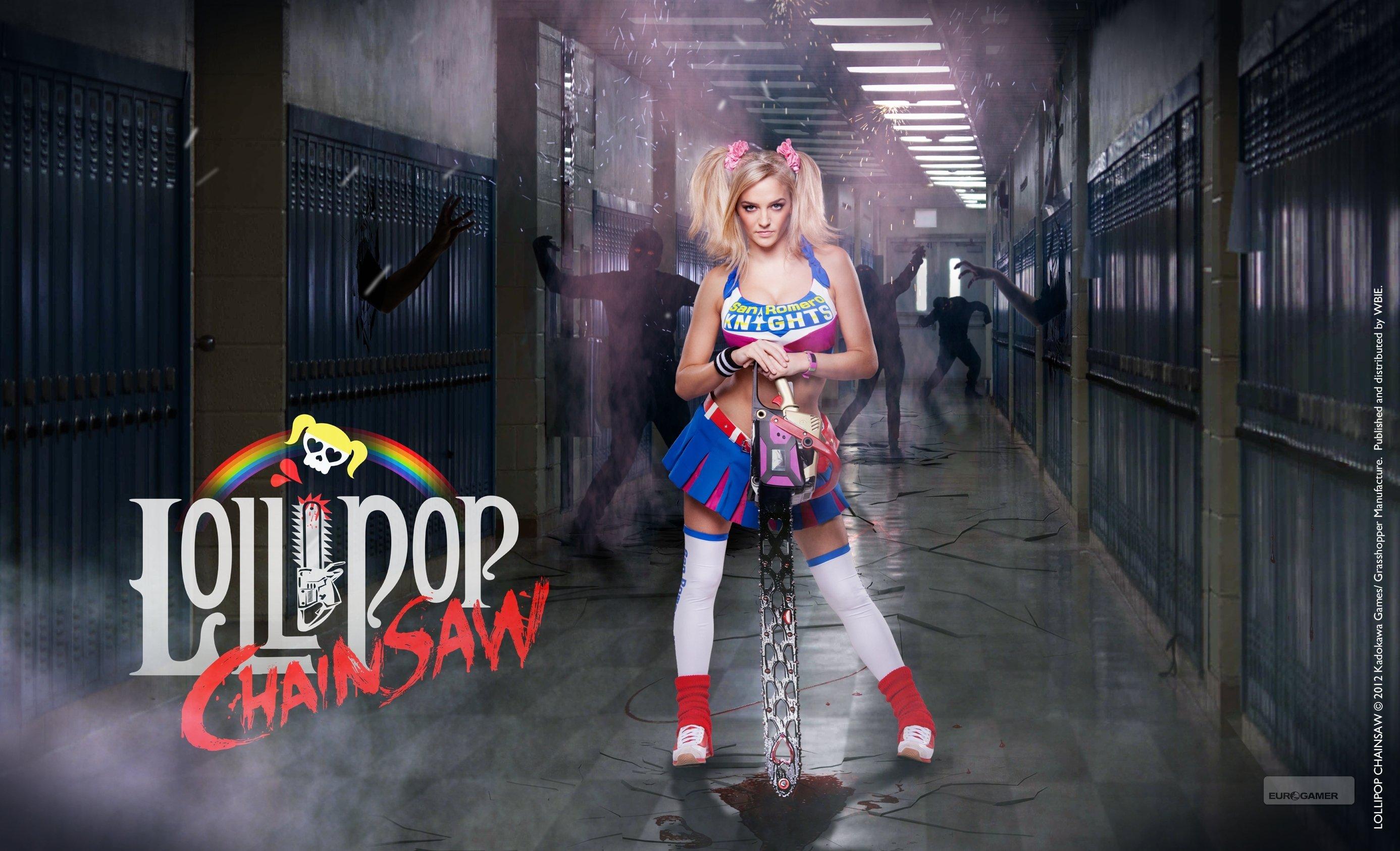 3d Video Wallpaper Download Lollipop Chainsaw Comedy Horror Action Fighting Dark
