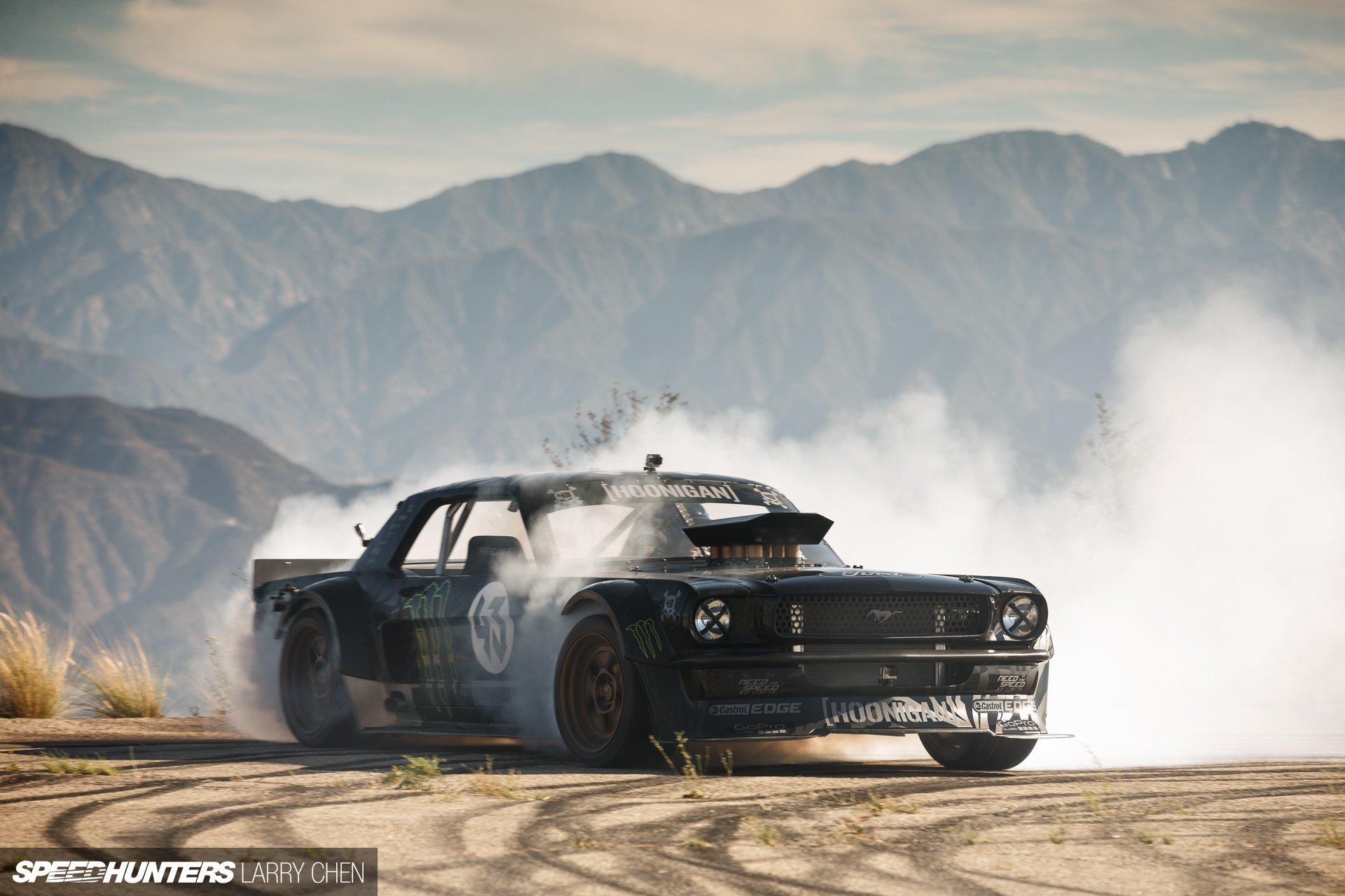 Muscle Cars Burnout Wallpapers 1965 Ford Mustang Hoonigan Asd Gymkhana Seven Drift Hot