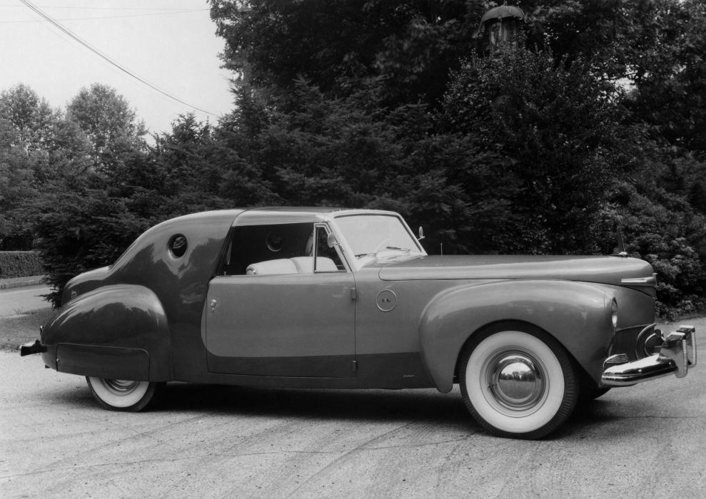 Pics Of Cars Wallpapers 1941 Lincoln Continental Coupe Special Loewy Derham Luxury