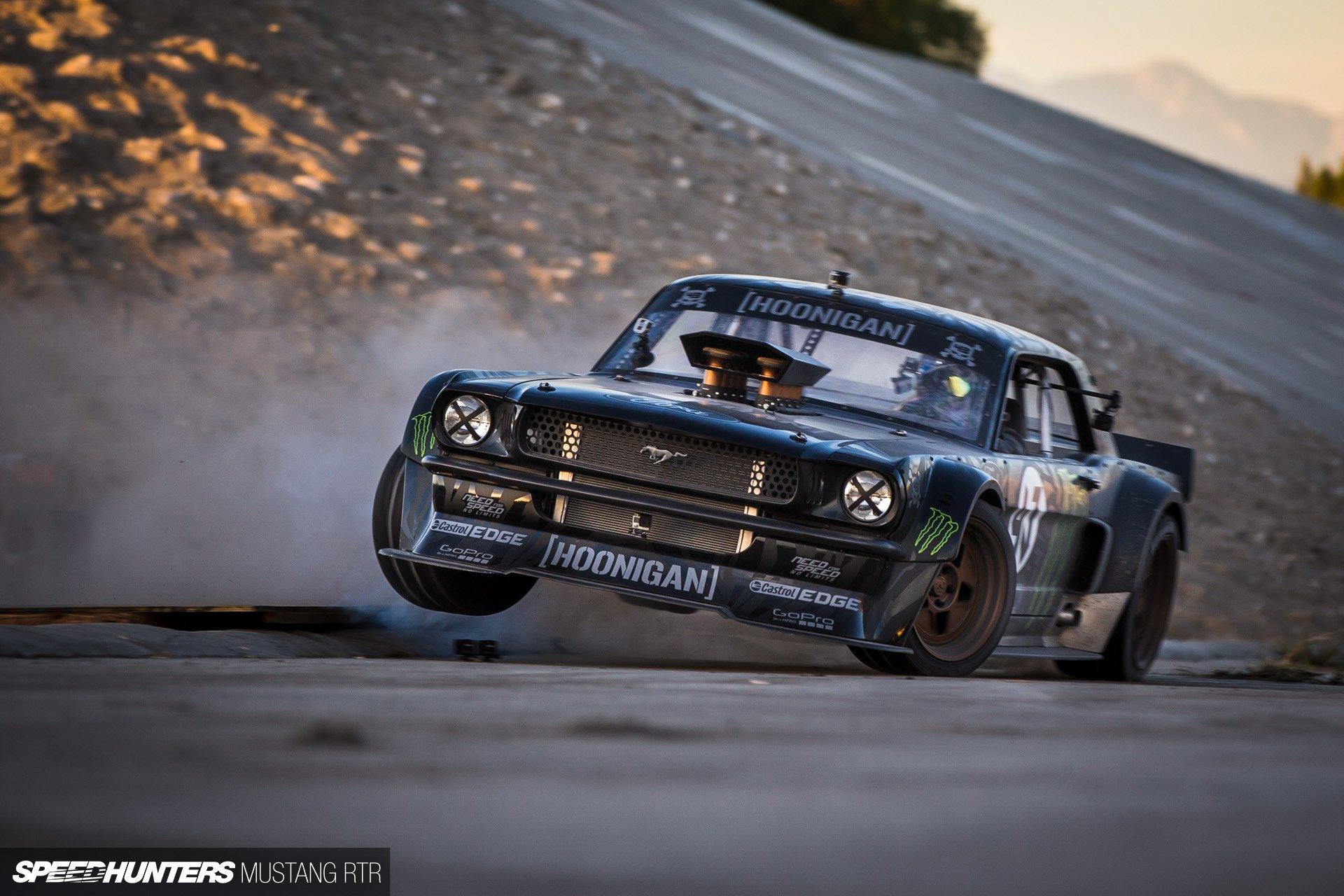 Gymkhana 7 Car Wallpaper Hoonicorn Rtr Ford Mustang Drift Race Racing Hot Rod Rods