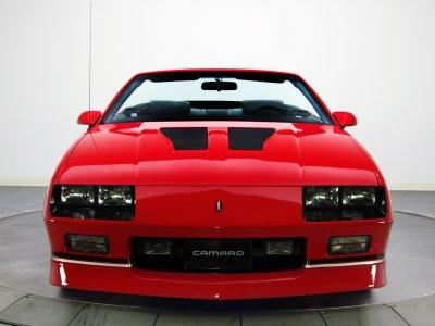 1988aei90 Chevrolet Camaro IROC-Z Convertible muscle iroc ...