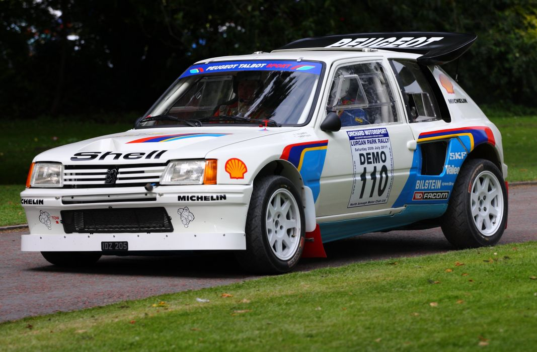 Rally Car Wallpapers Free Peugeot 205 Turbo 16 Rally Groupe B Cars Sport Wallpaper