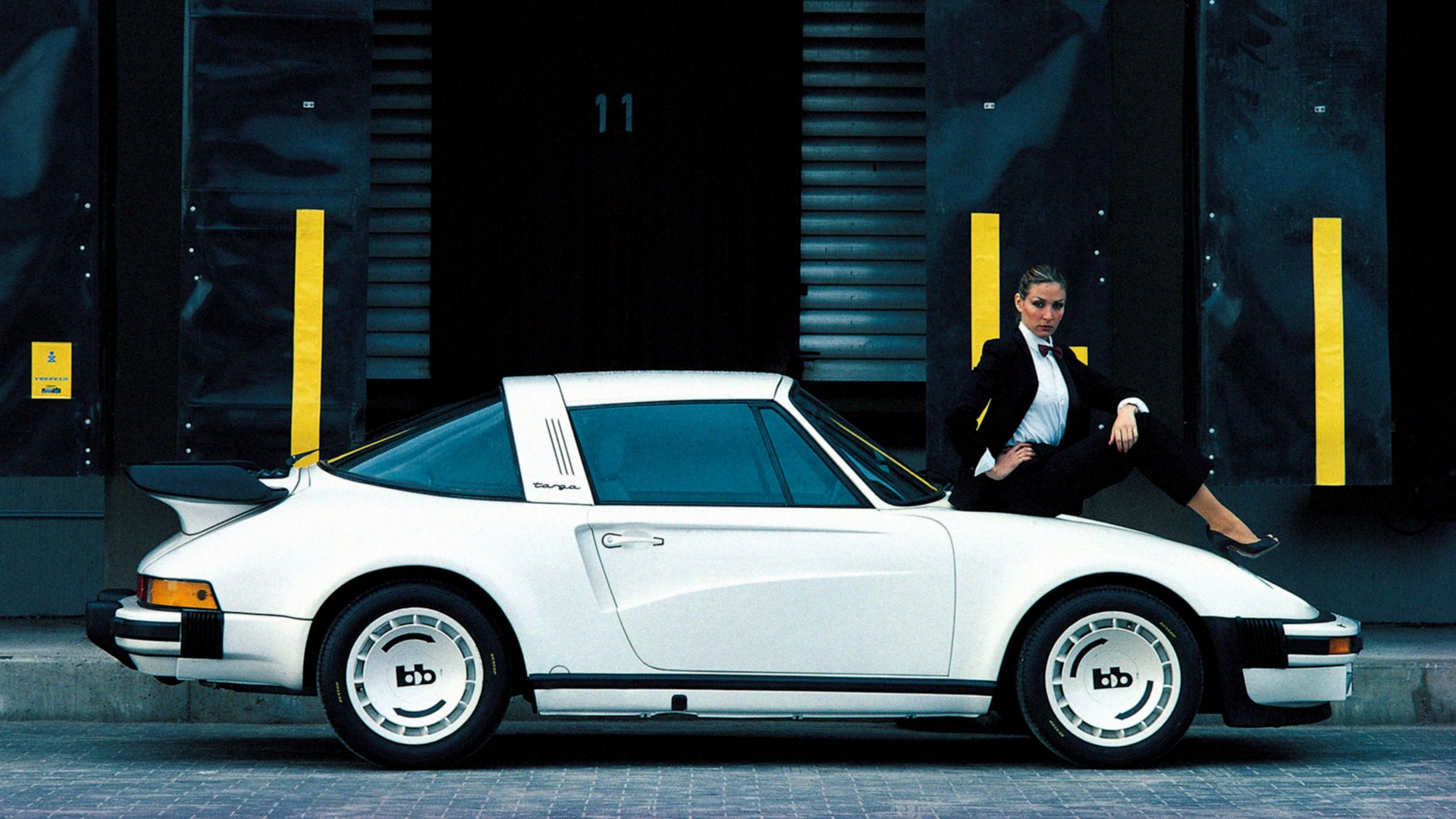 1920x1080 Wallpaper Cars Bb Porsche Turbo Targa White 911 Supercar Wallpaper