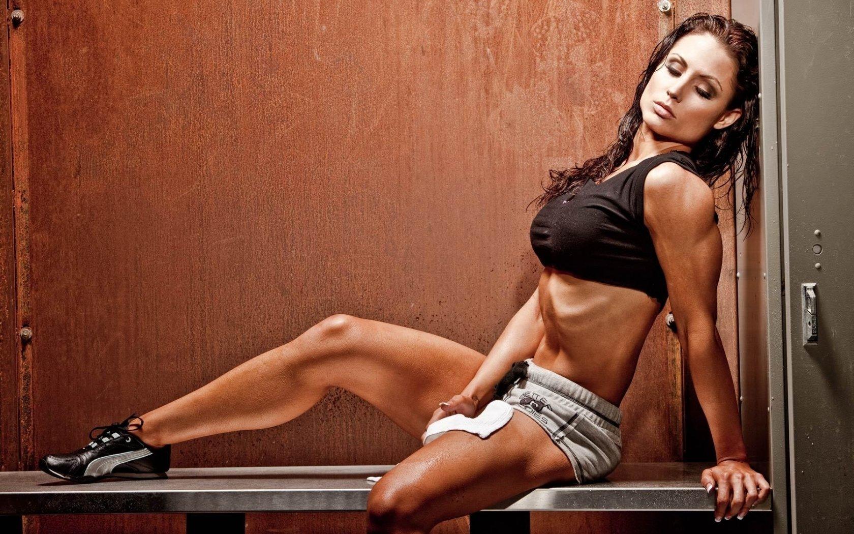 Police Officer Girl Wallpaper Sports Girl Fitness Models Gym Muscle Wallpaper