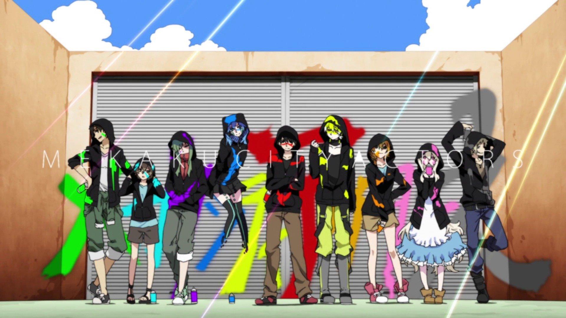 Anime Wallpaper Free Download Mekaku City Actors Anime Wallpaper 1920x1080 590680