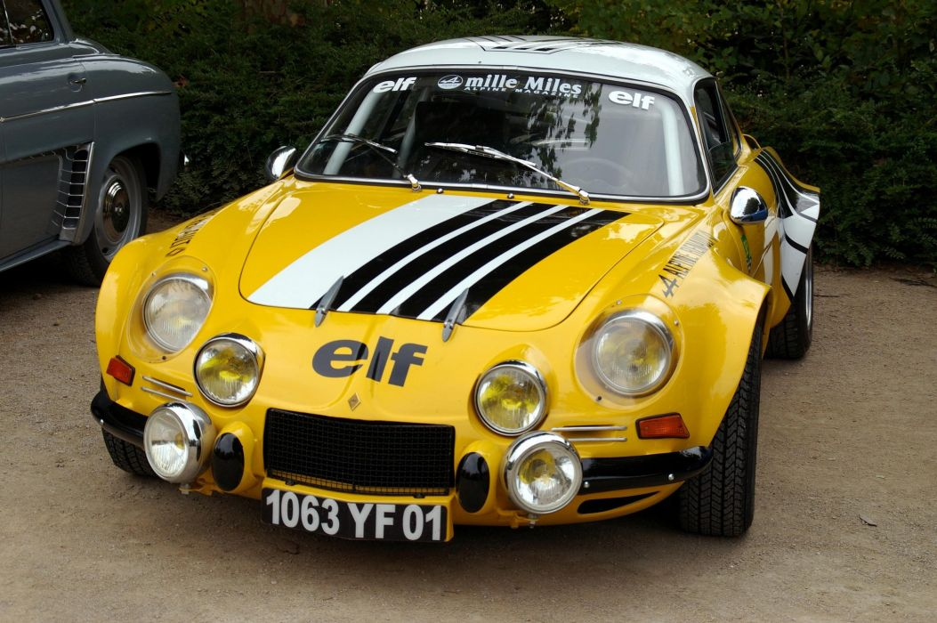 Rally Car Wallpapers Free A110 Alpine Classic Renault Berlinette Cars Rallycars