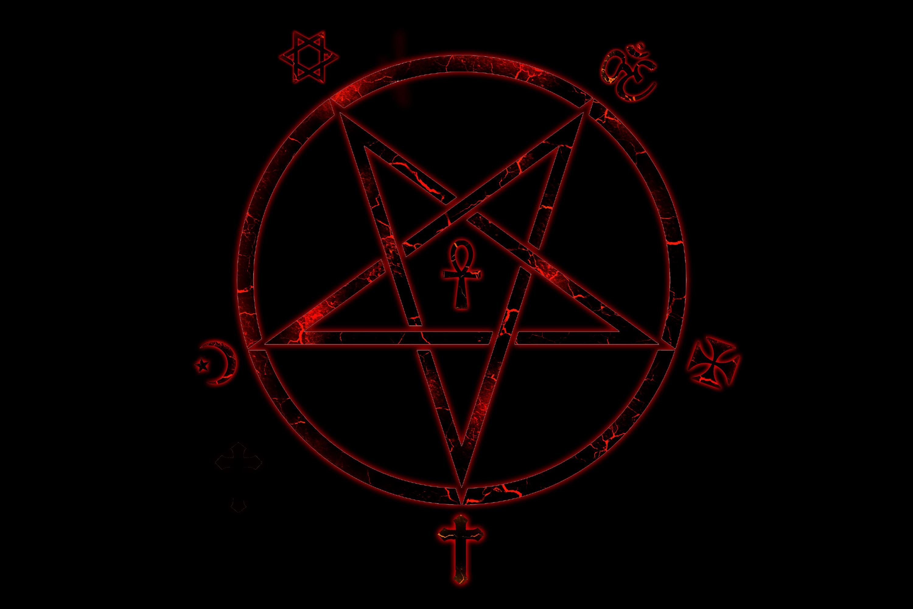 Satanic Iphone Wallpaper Dark Horror Evil Occult Satan Satanic Creepy Wallpaper