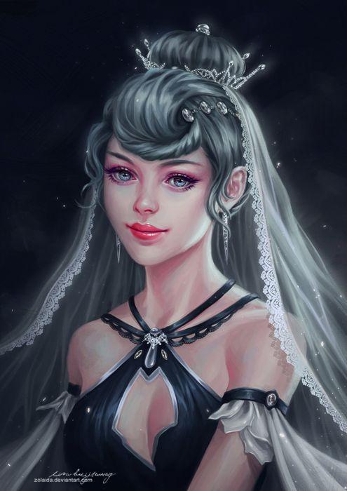 3d Art Wallpaper Blue Eyed Girl Fantasy Girl Princess Face Beautiful Blue Eyes Wallpaper