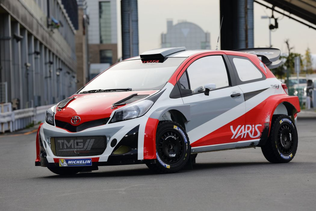 Rally Car Wallpapers Free 2015 Toyota Yaris Wrc Prototype Xp130 Race Racing