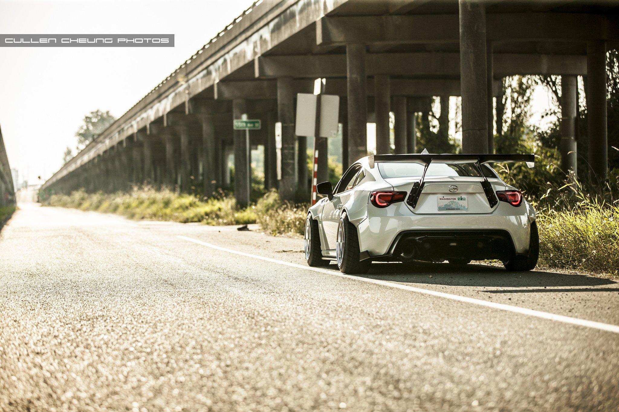 Mitsubishi Evo 9 Hd Wallpaper 2015 Bodykit Bunny Frs Rocket Scion Tuning Widebody