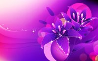 Abstract art background Colorful colors flowers; Glowing ...