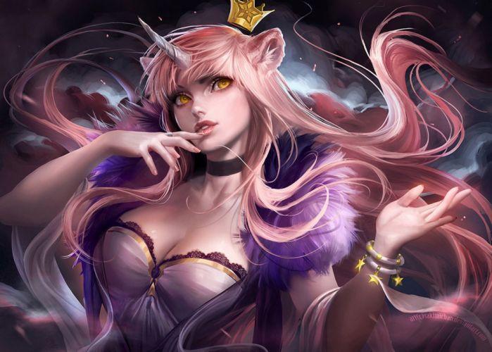 Beautiful Girl Wallpaper Pictures Download Anime Girl Beautiful Dress Fantasy Long Hair Wallpaper