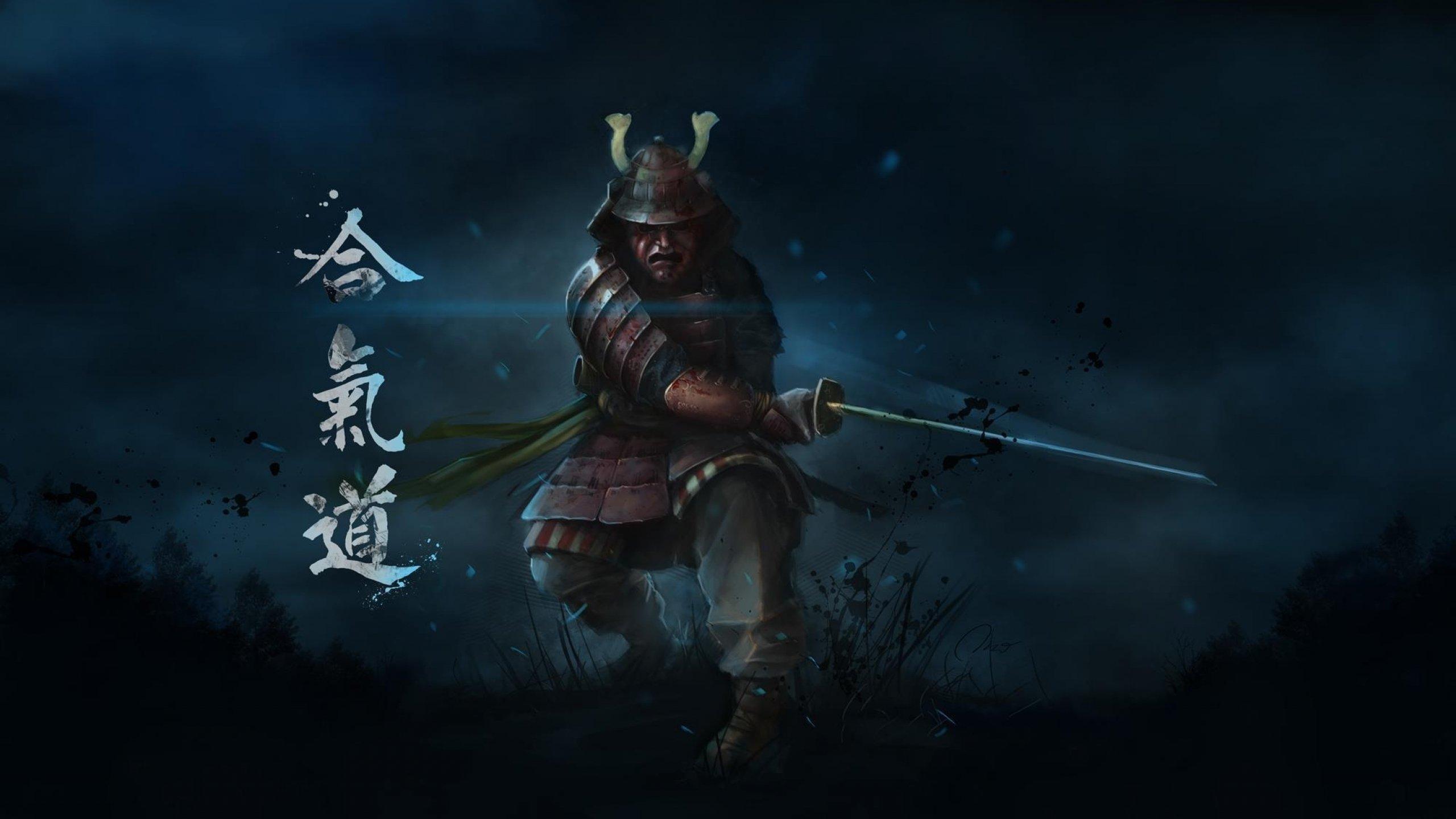 Japanese Samurai Girl Wallpaper Samurai Warrior Fantasy Art Artwork Asian Wallpaper