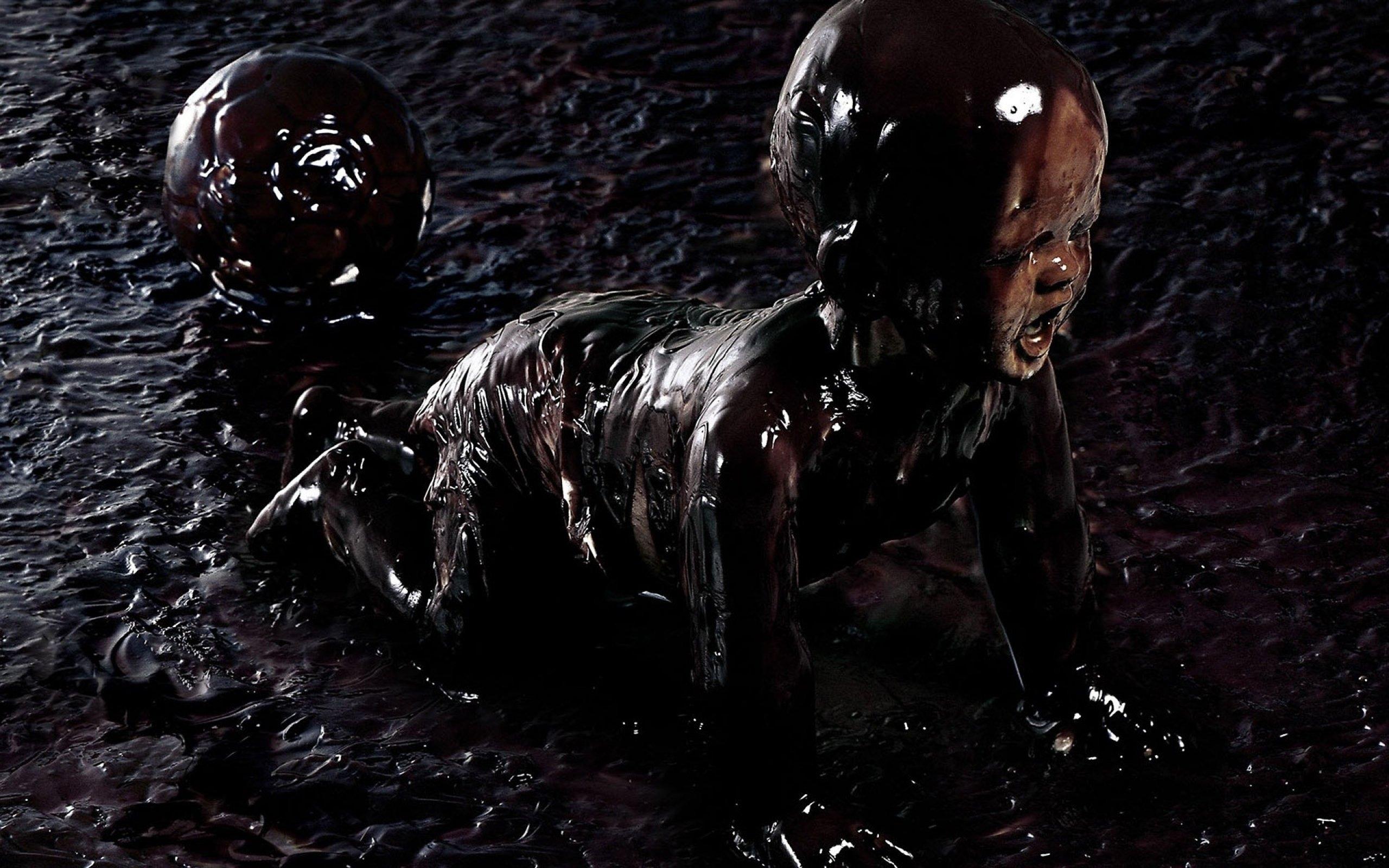 Fall Chevron Wallpaper Dark Creepy Scary Horror Evil Art Artwork Wallpaper