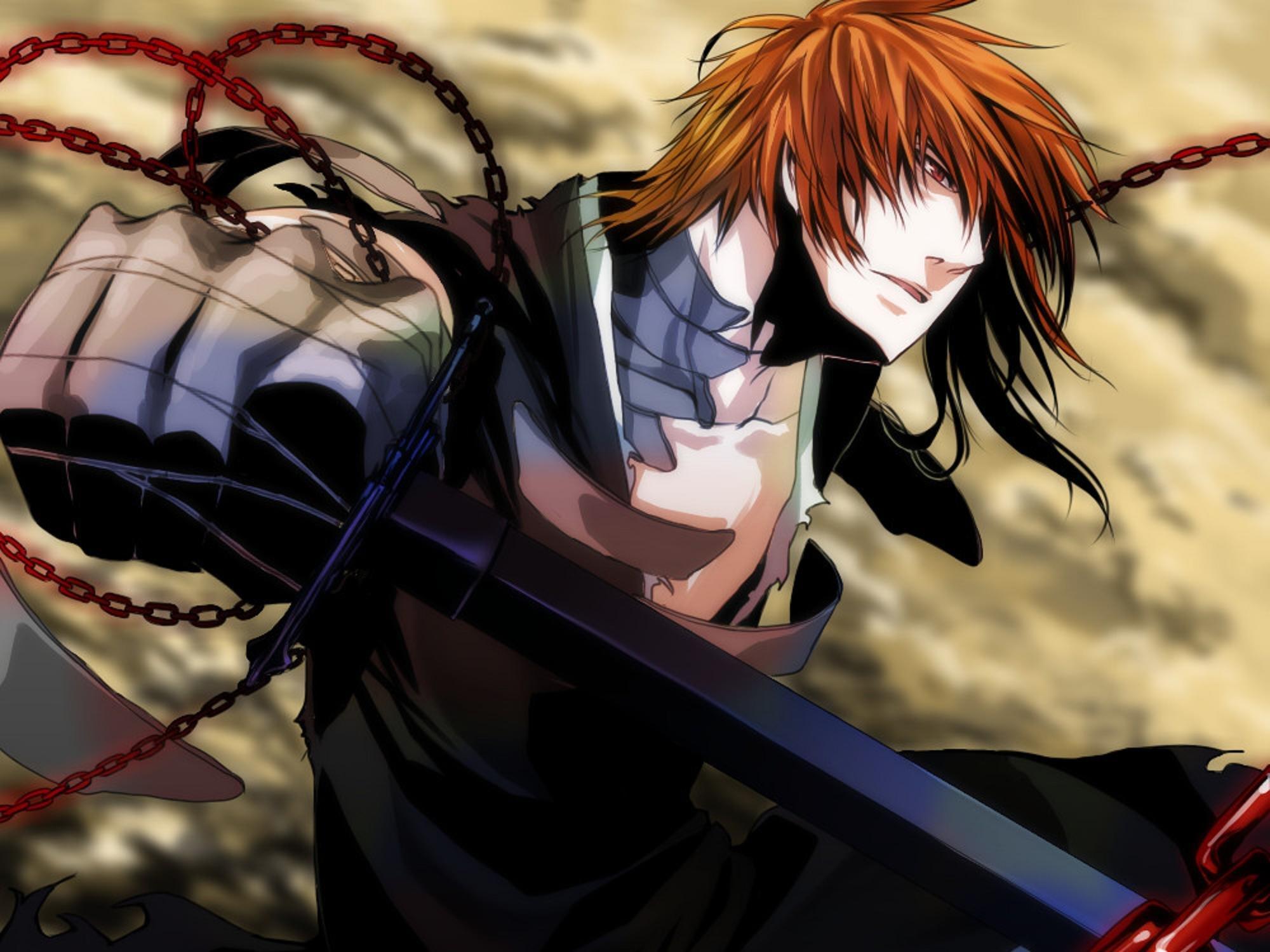 Inuyasha 3d Wallpapers Bleach Anime Series Character Katana Sword Kurosaki Ichigo
