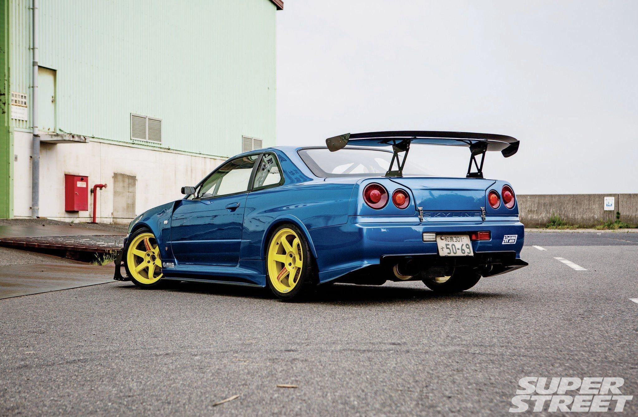 Hd Tune Up Cars Wallpaper 999 Nissan Skyline Gtr Blue Modified Cars Wallpaper