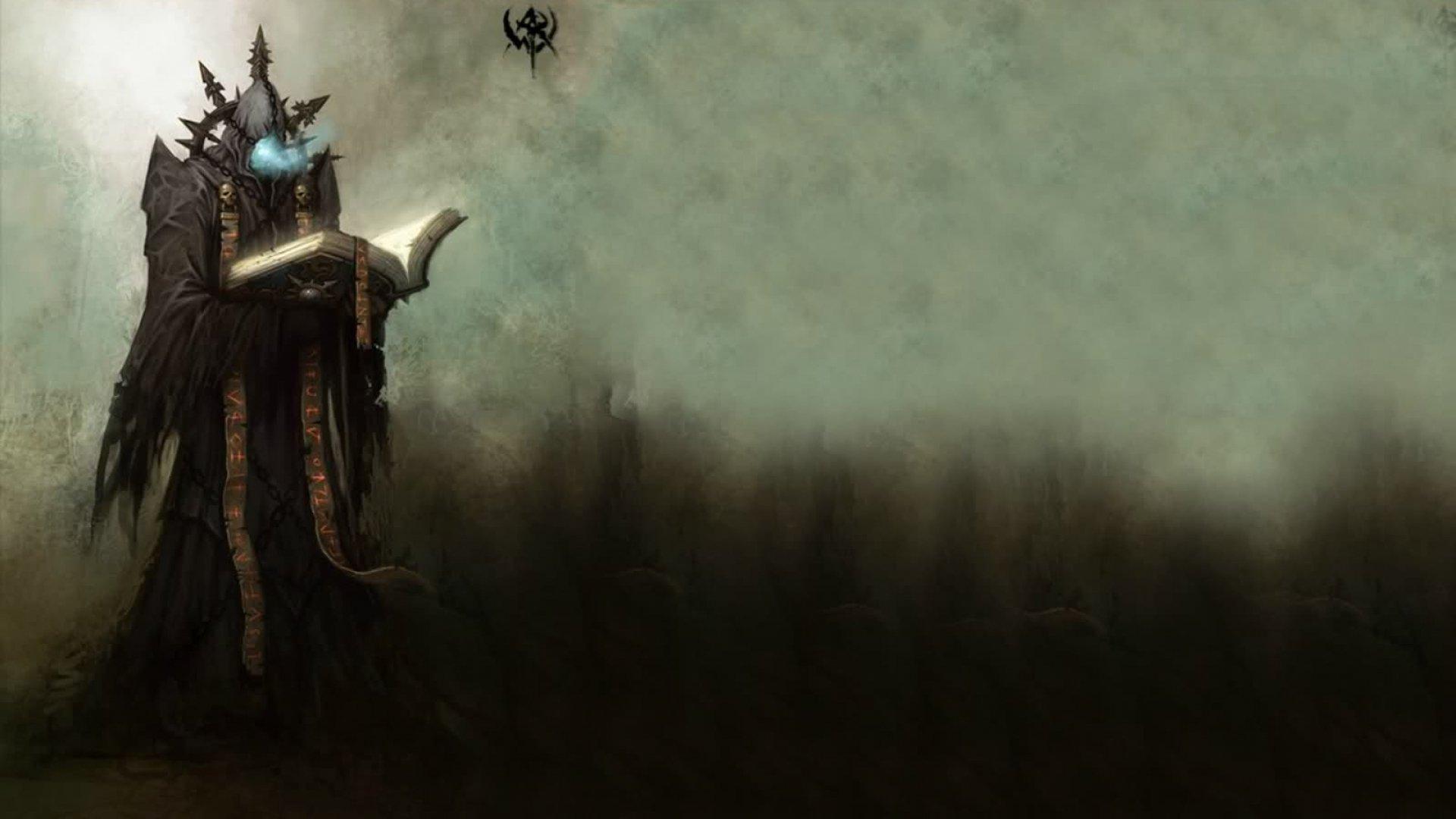 Dark Images Wallpaper Hd Fantasy Mage Wizard Sorcerer Art Artwork Magic Magician