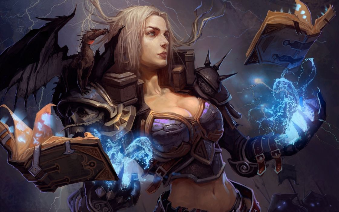 May Girls Wallpaper Witch Fantasy Occult Dark Art Artwork Magic Wizard Mage