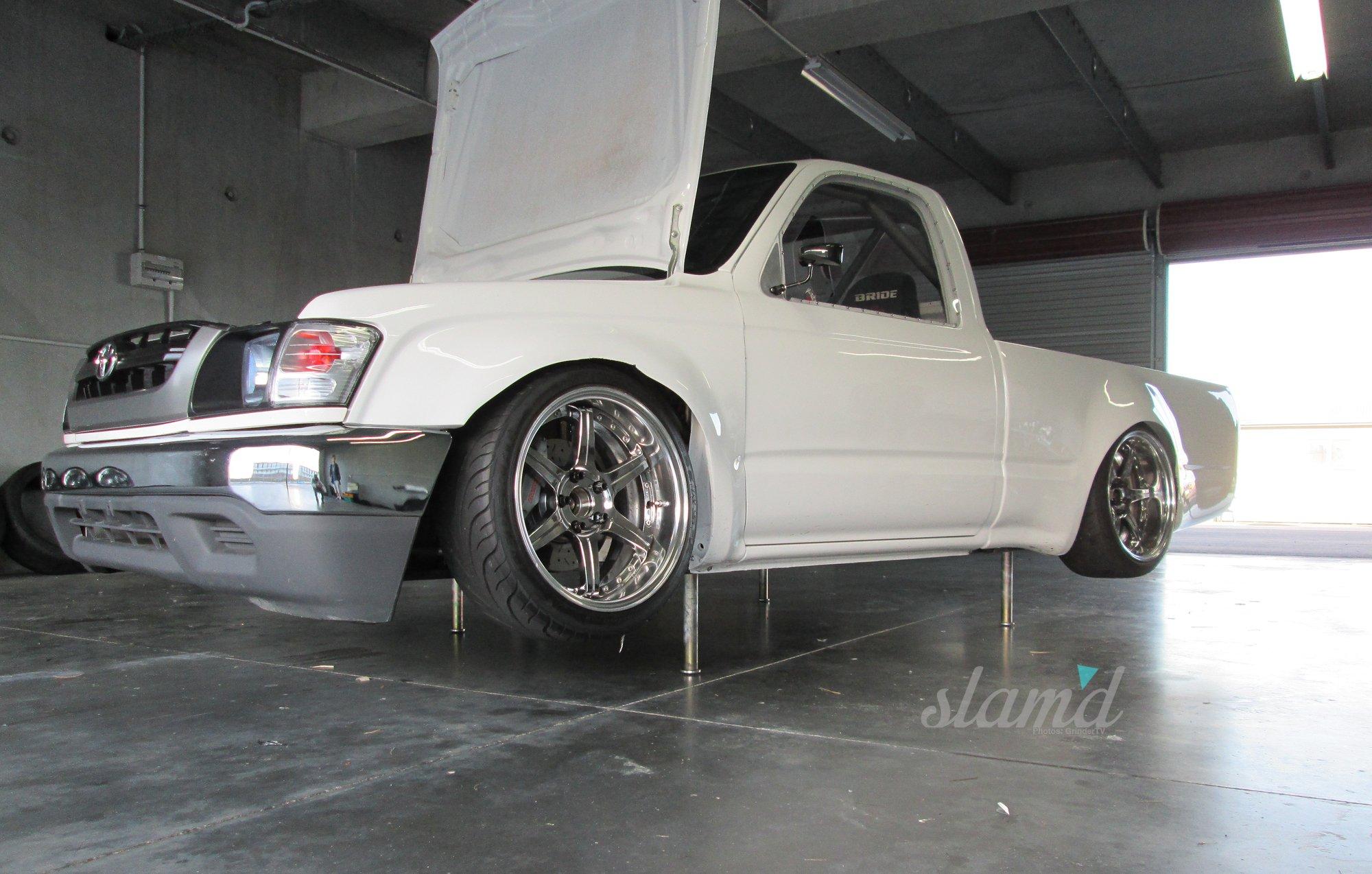 Lowrider Car Wallpaper 2001 Toyota Hilux Tacoma Pickup Lowrider Drift Custom