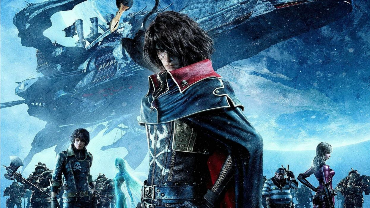 Space Journey 3d Wallpaper Space Pirate Captain Harlock Fantasy Pirates Adventure