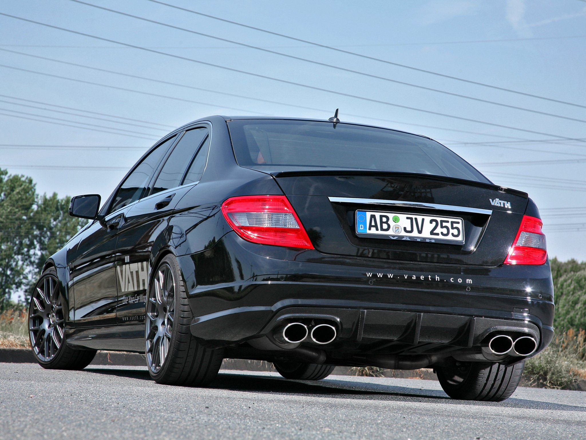 Mercedes Modified Cars Wallpapers Vath Mercedes Benz C 250 Cgi W204 Cars Modified 2010