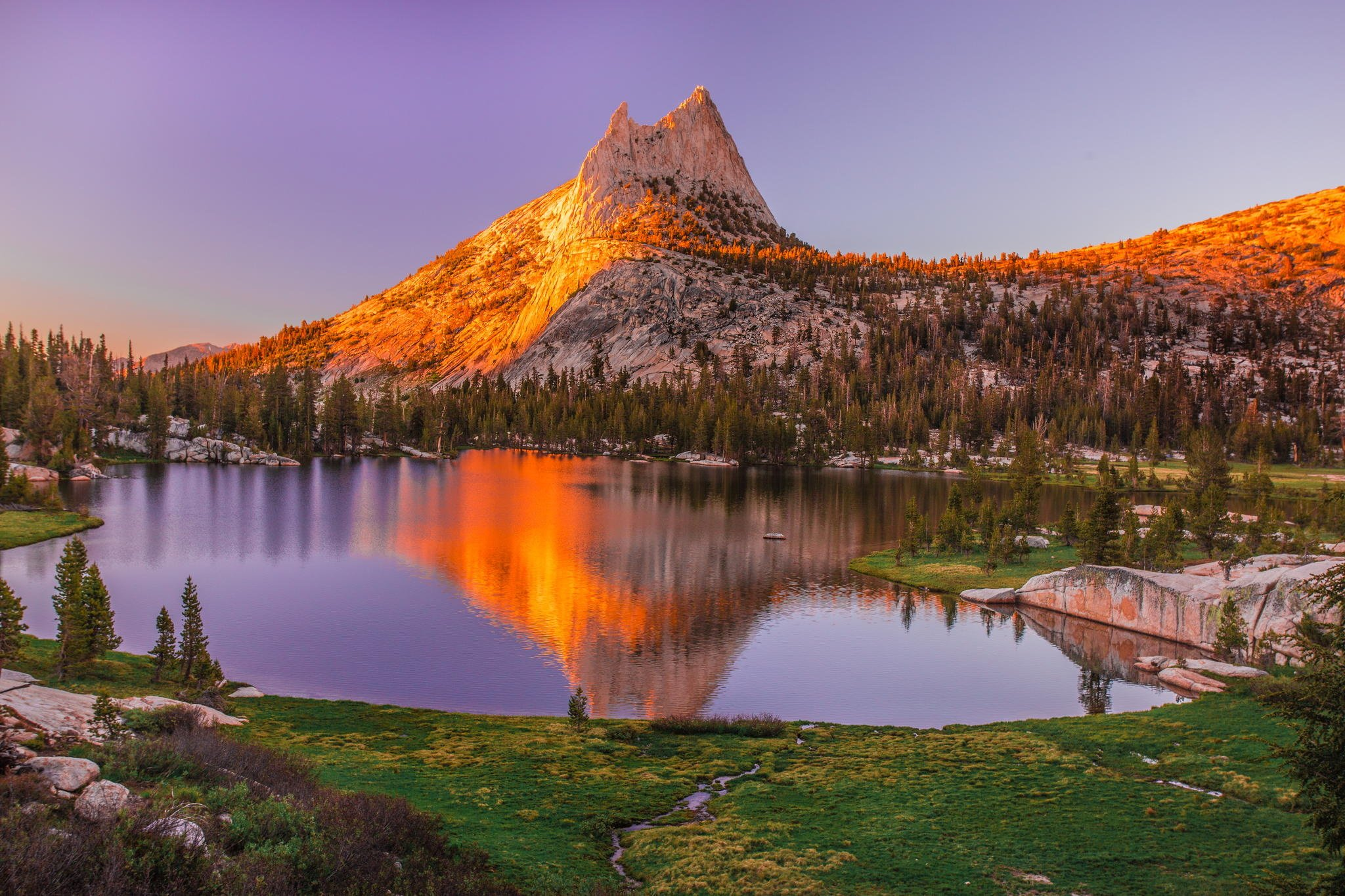 National Geographic Wallpaper Fall Yosemite National Park Mountains Lake Trees Sunset