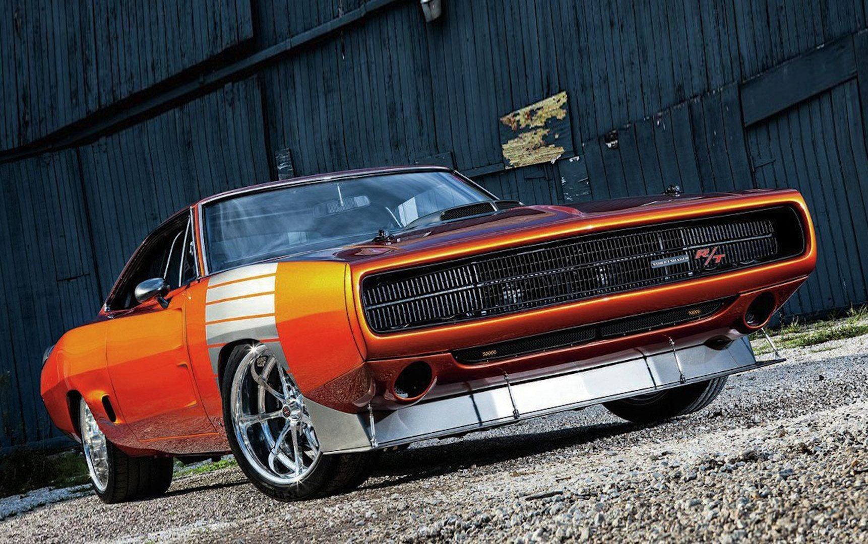 4k Wallpaper Muscle Car 1970 Dodge Charger Rt Muscle Super Street Pro Touring Usa