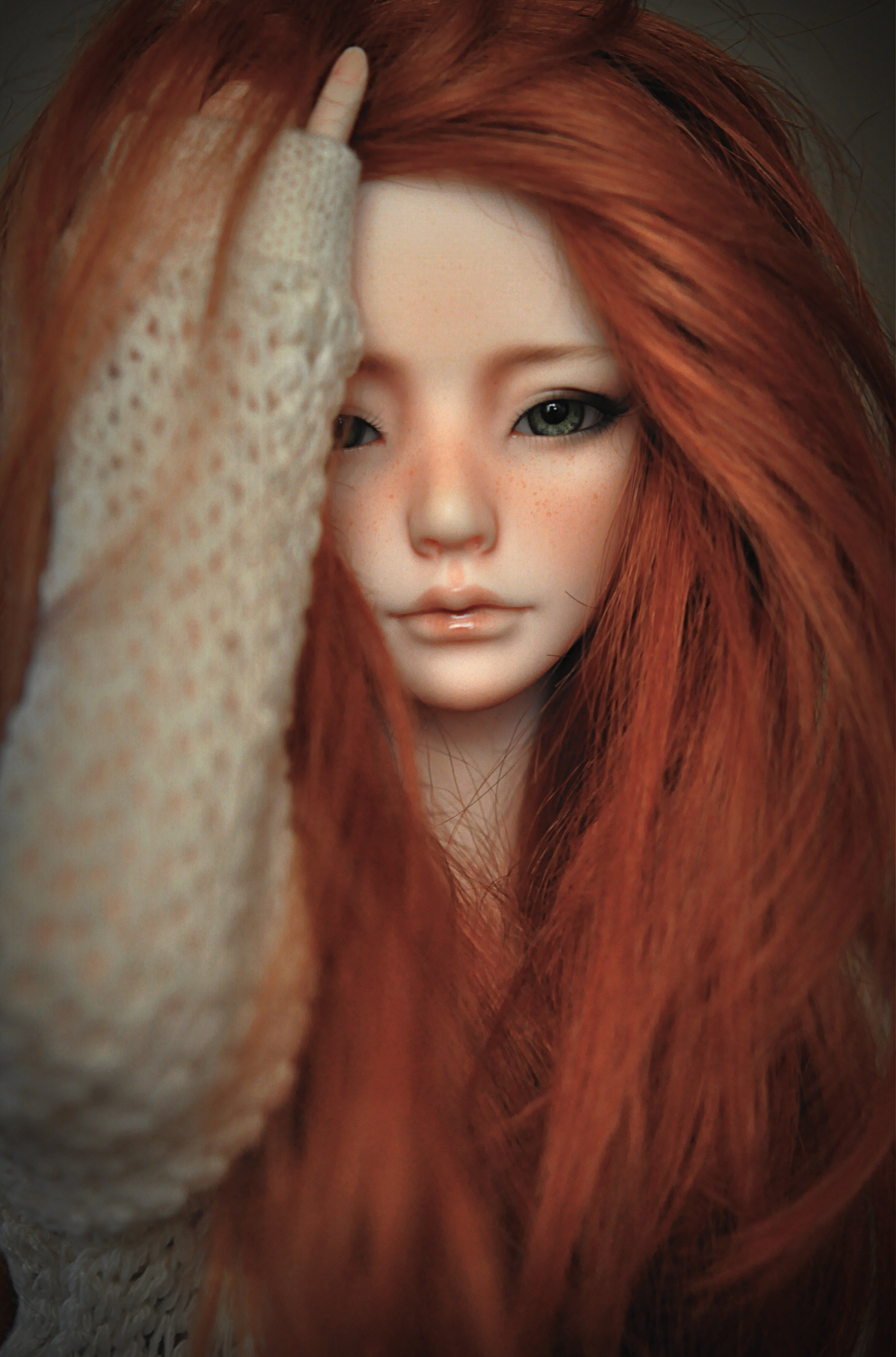 Cute Girl Wallpaper For Facebook Profile Doll Toys Baby Girl Beauty Long Hair Cute Red Wallpaper